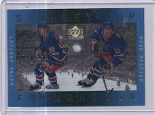 1996-97 UPPER DECK ICE STANLEY CUP FOUNDATION WAYNE GRETZKY, MARK MESSIER