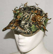 3D REALTREE CAMO HUNTING AIRSOFT LEAF NET GHILLIE HAT CAP