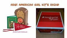 NEW IN BOX American Girl Kit's Radio Set Robin Hood Book & Pennant