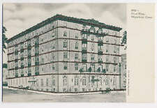 Hotel Elton Westbury Connecticut Glitter Applied Postcard XF Architecture
