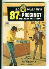 ED MCBAIN 87TH PRECINCT MYSTERY MAG #5, rare US crime digest mag Gil Brewer