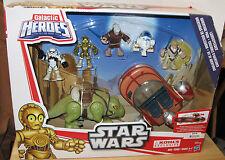 Playskool Star Wars Galactic Heroes Landspeeder Adventure Pack NIP VHTF