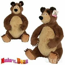 New Masha And The Bear 50cm Bear Plush Soft Toy Official