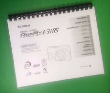 COLOR PRINTED Fujifilm Camera FinePix F31fd Instruction Manual 180 Pages