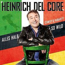 HEINRICH DEL CORE - ALLES HALB SO WILD  BLU-RAY + CD NEU
