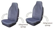 FORD RANGER Heavy Duty Waterproof Car Seat Covers (Pair) in GREY