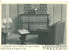 L' ENCICLOPEDIA TRECCANI  -  Cartolina pubblicitaria - Piazza Paganica_ROMA