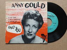 """DISQUE 45T DE ANNY  GOULD  """" LOIN  DE  VOUS  """""""