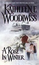 BUY 2 GET 1 A Rose in Winter by Kathleen E. Woodiwiss (1983, Paperback, Reprint)