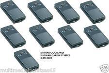 9 RADIOCOMANDI TELECOMAND1 CARDIN S738-TX2 30,875MHZ ORIGINALE NUOVO