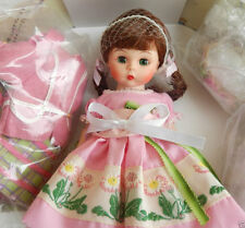 """MADAME ALEXANDER """"PRETTY IN PINK TRUNK SET"""" 8"""" 42170  NRFB HTF Doll accesories"""
