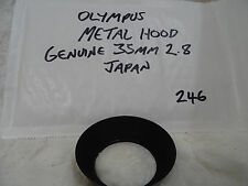 OLYMPUS BRANDED 49mm Wide Angle Metal Lens Hood for 3.5/28mm or 2.8/28mm