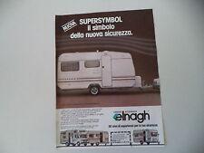 advertising Pubblicità 1981 CARAVAN ELNAGH SUPERSYMBOL