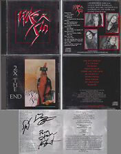 WISER SIN Self Titled & 2 X The End CD Set Signed By All 4 Members 2 Disc Lot