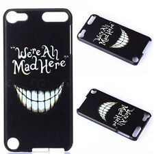 Vogue Slim We are all mad Shell Back Hard Cover Case For iPod Touch 5 5th Gen