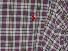 Ralph Lauren Classic Fit Plaid Long Sleeve Button-Front Shirt Men's XLT Tall