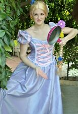 "Tangled Rapunzel Dress Gown Costume, Adult - Your Size Busts 32"" - 42"""