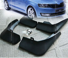 FOR 2012 2013 2014 SKODA RAPID MOLDED MUD FLAP FLAPS SPLASH GUARD MUDGUARD