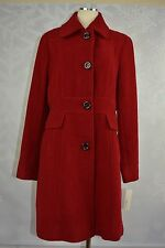 """Kenneth Cole   """"Ruby"""" red colored Wool Blend Seamed walker    NWT   size 12"""