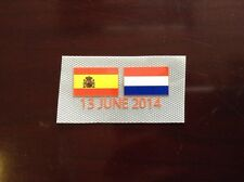 Spain Vs Holland World Cup 2014 Match details For Holland Away 2014-16 Shirt