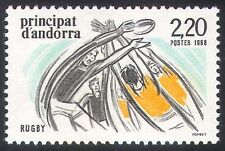 Andorra 1988 Rugby/Sports/Games/Animation 1v (n41681)