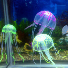 Hot Lovely Artificial Silicone Vivid Jellyfish For Fish Aquarium Decoration Gift