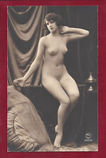 1920s Antique Art Deco Nude Photo~Busty Boobs Pinup Curvy Perky Breasts Flapper