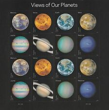 US 5069-5076 Views of our Planets forever sheet MNH 2016