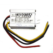 DC 17-40V to 12V 10A Buck Voltage Vehicle Supply Power Aluminum Alloy Shell