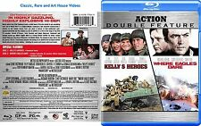 Kellys Heroes / Where Eagles Dare ~ New Blu-ray 2010_2-Discs ~ Clint Eastwood