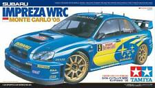 Tamiya 24281 1/24 Model Rally Car Kit Subaru Impreza GD WRC 2004 '05 Solberg