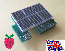 Rs-Pi  i2c 24 x16 LED Matrix Board for Raspberry Pi