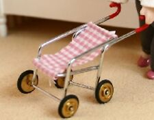 DOLLS HOUSE miniatura 1/12 scala Dolly Toy Buggy - 4cms alto per visualizzare solo