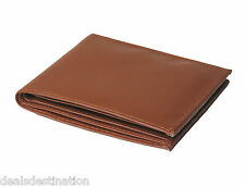 Espana Brown Genuine Leather Formal Wallet For Men-ESP-BRWLW