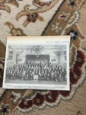 b2-7 ephemera 1930 picture beaconsfield institute dinner r dalby reeve thanet