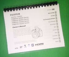 LASER PRINTED Fujifilm FinePix S4400 S4500 Instruction Manual 147 Pages