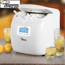 Savoureux ProLine Portable Ice Maker - Make Ice in as Little as 6 Minutes!