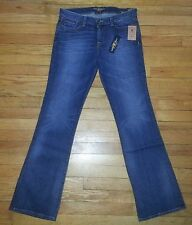 p2625 NWT $100+ Sz 8/29 32x32 Blue LUCKY BRAND Sweet'N Low Boot Leg Jeans!