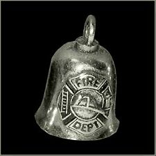 GREMLIN BIKER BELL FIREFIGHTER / FIRE DEPT. FOR HARLEY DAVIDSON guardian spirit