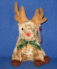 TY RUDY the REINDEER BEANIE BABY - MINT with MINT TAGS