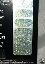 Maybelline Color Show Nail Stickers Mirror Effect *50 SILVER SPARKS* Shimmers BN