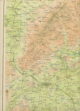 2310 1898 MAP of Royal Atlas of England & Wales Pl.42 THE UPPER THAMES (OXFORD)