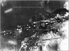 Photo: Pearl Harbor: Japanese Aerial, Battleship Row, 2nd Wave, Dec. 7th, 1941