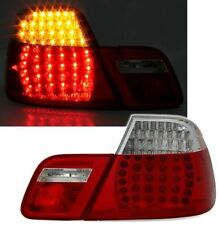 CLEAR LED REAR TAIL LIGHTS LAMPS FOR BMW E46 3 SERIES COUPE 4/99-3/03 DEPO
