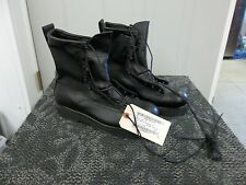 MATTERHORN WOMEN BOOT BLACK SAFETY SHOE STEEL TOE LADIES 10.5 10 1/2 W WIDE NEW