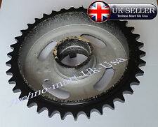 38 TEETH Rear Drum Wheel Sprocket Brake Drum For Royal Enfield  801041 @UK