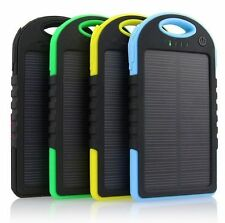 FREE ONE USB  LED LIGHT with HIGH PERFORMANCE SOLAR 5600 mAh Best POWER BANK.