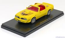 1:43 Ertl/Auto World Pontiac Firebird Trans Am 1977 yellow