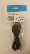 NEW-Sennheiser Cable 3m jack3.5s for HD200/270/490/500/570/590/575/210(091581)