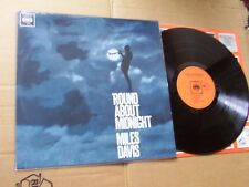 MILES DAVIS,ROUND ABOUT MIDNIGHT lp m-/m- cbs rec. 62323 made in holland